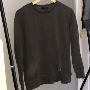 Allsaints Chocolate Sweatshirt